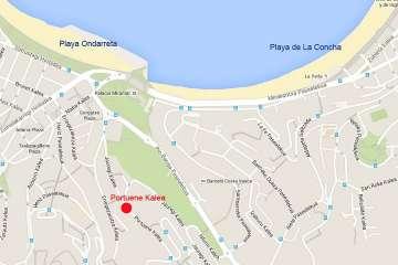 Alquiler Piso Vacacional San Sebastián Donostia Mapa