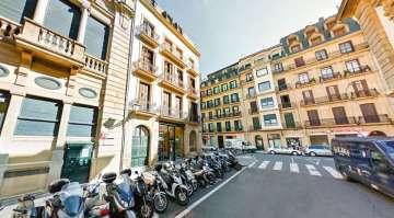 Alquiler de local comercial Parte Vieja Donostia calle iñigo con aldamar