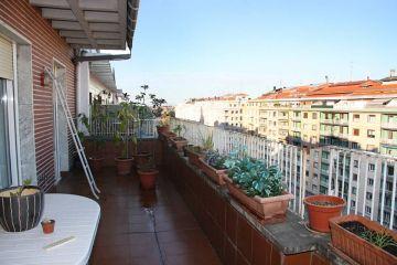 piso soleado con terraza sancho el sabio donostia